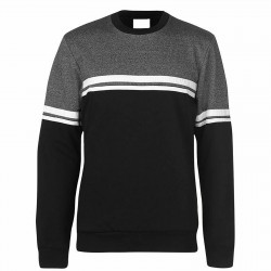 Men's sweater Grey and Black