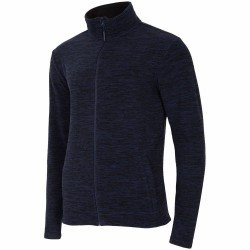 MEN'S FLEECE DARK BLUE MELANGE