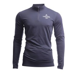 MEN'S ACTIVE LONGSLEEVE LATVIA PYEONGCHANG GRAPHITE