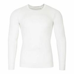 BASELAYER LONGSLEEVE WHITE ALLOVER