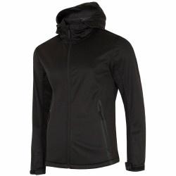 MEN'S SOFSHELL JACKET BLACK
