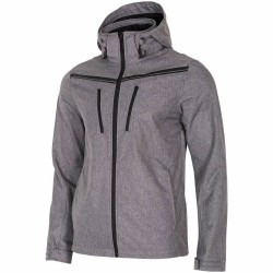 MEN'S SOFTSHELL GREY MELANGE