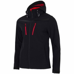 MEN'S SOFTSHELL DEEP BLACK NEON