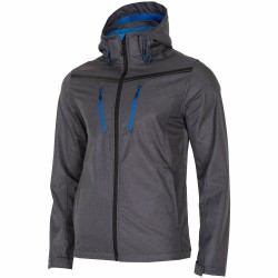 MEN'S SOFTSHELL DARK GREY MELANGE