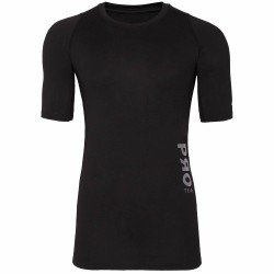 BASELAYER T-SHIRT BLACK ALLOVER