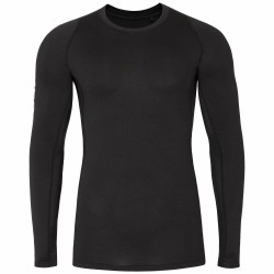BASELAYER LONGSLEEVE BLACK ALLOVER