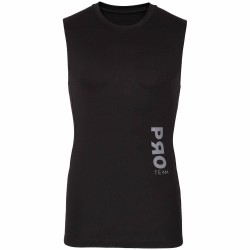 BASELAYER TANK TOP BLACK ALLOVER