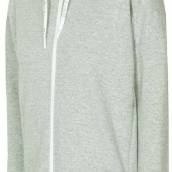 WOMEN'S HOODIE LIGHT GREY MELANGE