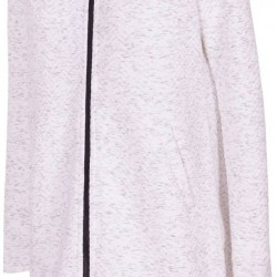 WOMEN'S HOODIE LIGHT GREY