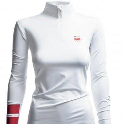 WOMEN'S LONG SLEEVE T-SHIRT POLAND PYEONGCHANG WHITE