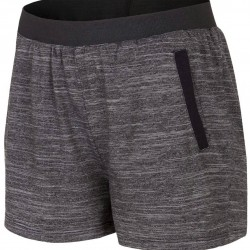 WOMEN'S KNIT SHORTS DARK GREY MELANGE