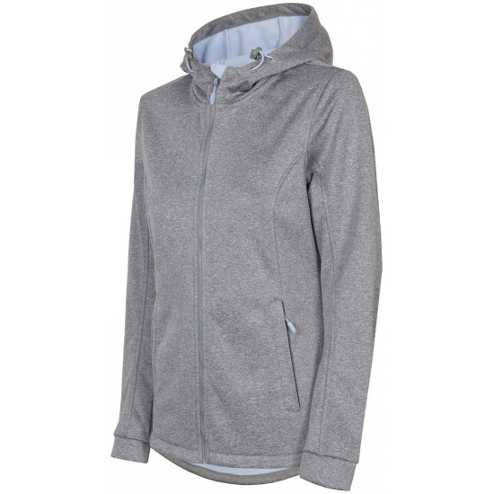 WOMEN'S SOFTSHELL JACKET LIGHT GREY MELANGE