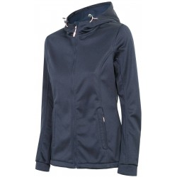 WOMEN'S SOFTSHELL JACKET DARK NAVY MELANGE