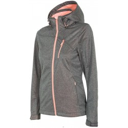 WOMEN'S SOFTSHELL JACKET GRAY MELANGE