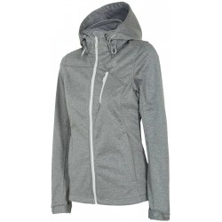 WOMEN'S SOFTSHELL JACKET LIGHT GRAY