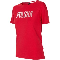 SPORTS FAN T-SHIRT FOR WOMEN RED