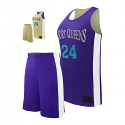 HALF COURT WOMEN'S BASKETBALL SET
