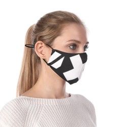 Sublimation Elastic Loops Women Face Mask
