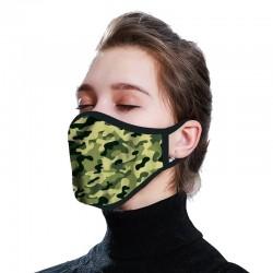 100% Cotton Sublimation Face Mask
