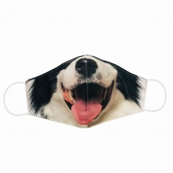 Polyester Animal Sublimation Face Mask
